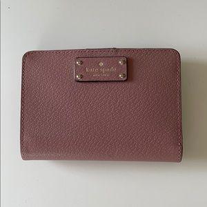 Kate Spade women's blush pink wallet